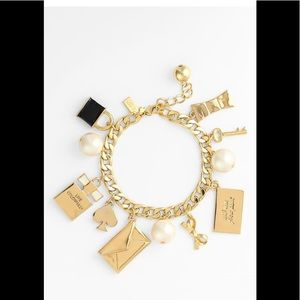 Kate spade Charming  Charm bracelet .